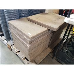 LOT OF PAVER STONES 18X18X1/2 INCH