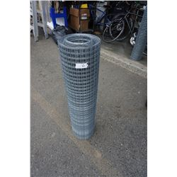 3 FOOT TALL ROLL OF MESH FENCING