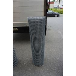 4 FOOT TALL ROLL OF MESH FENCING