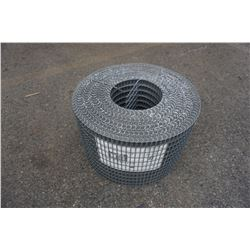 11 INCH 100 FOOT ROLL OF 1 X 1 INCH MESH FENCING