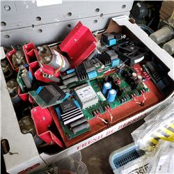 BOX MOUNTED CAPACITORS AND OTHER ELECTRIC HARDWARE