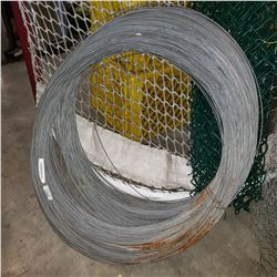 LARGE 30LB COIL OF STEEL WIRE