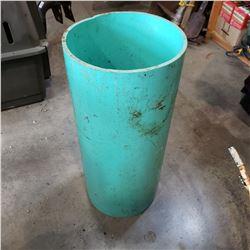 3FT LONG 12 IN DIAMETER PVC PIPE