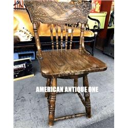 85cm Wooden Chair Antique Furniture
