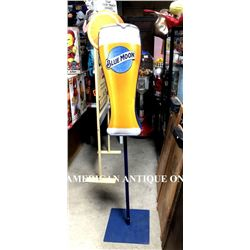179cm blue moon display reversible sign