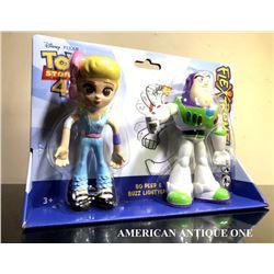 2019 Toy Story 4 / Buzz Lightyear & Bo Peep bendable figure