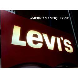 110cm Levis Neon Wooden