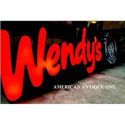 320cm Wendy's Display Neon