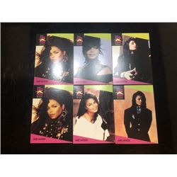 1991 musician card set of 4 Janet Jackson ?