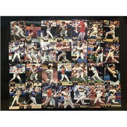 topps baseball stadium club card 28-piece set ?