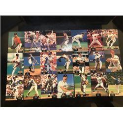 topps baseball stadium club card 21-piece set ?