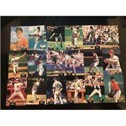 topps baseball stadium club card 18-piece set ?