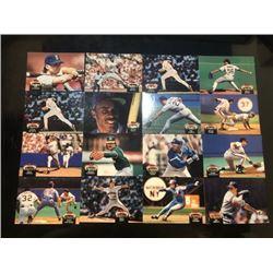 topps baseball stadium club card 16-piece set ?