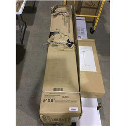 LeadvisionRoll Up Garage Door Kit - (5' x 6')
