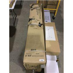 Leadvision Roll Up Garage Door Kit - (5' x 6')