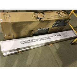 "New Revolutionary Cladding Material - (96"" L x 9.85"" W) -Model: CP-42 - 10/Box"