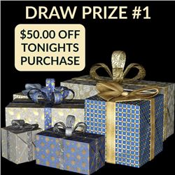 CANADA DAY GIVEAWAY - $50.00 OF TONIGHTS AUCTION PURCHASES. YOU MUST BE IN ATTENDANCE ONLINE TO WIN.