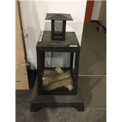 "NEW IN BOX Facto Outdoor Fireplace (26.38""L x 26.38""W x 40.55""H)"