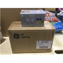 Case of 6 GE Classic LED 3000k Bulbs 2-Pack