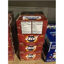 Excel Cinnamon Gum Lot of 4 x 12