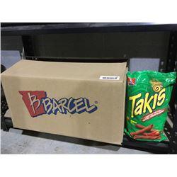 Case of Barcel Takis Crunchy Fajitas Chips (12 x 280g)