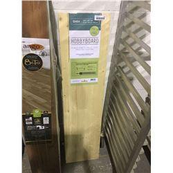 "Hobby Board Spruce Edge-Glued Panel (11/16"" x 12"" x 48"")"