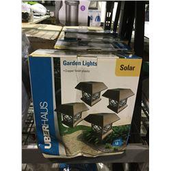 UberHaus Solar Garden Lights