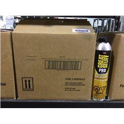 Case of Great Stuff Pro Polyurethane Foam Adhesive (12 x 751g)