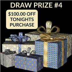 CANADA DAY GIVEAWAY - $100.00 OF TONIGHTS AUCTION PURCHASES. YOU MUST BE IN ATTENDANCE ONLINE TO WIN