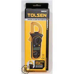 NEW TOLSEN DIGITAL CLAMP MULTIMETER