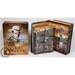 A LOT 2 OF JOHN WAYNE DVD TIN SETS