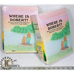 """SET OF 2 SEALED """"WHERE IS ROBERT"""""""