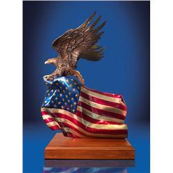 """Brave Glory"" Bronze sculpture by Lorenzo Ghiglieri"