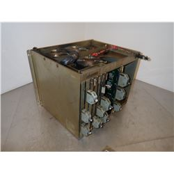 OKUMA E7191-183-328-1 OPUS 5000 CPU/IF RACK 17 WITH MODULES