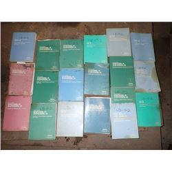 Huge Lot - Okuma Manuals for LB15