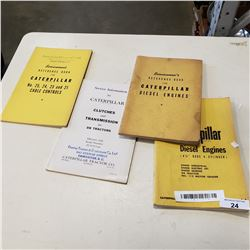 FORD CATERPILLAR SERVICEMAN REFERENCE BOOKS