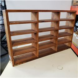 WOOD SHELF FOR 1/24 SCALE AND SMALLER DIE CAST CARS