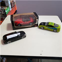 PAUL MCARTEY BMW Z8 ROASTER, JADA DODGE MAGNUM AND MITSUBISHI RACING CHAMPIONS DIE CAST CARS