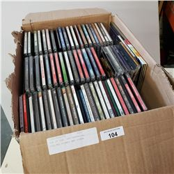 BOX OF CDS, LED ZEPPELIN, ROLLING STONES AND OTHER