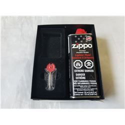 NEW ZIPPO LIGHT FLUID AND FLINTS