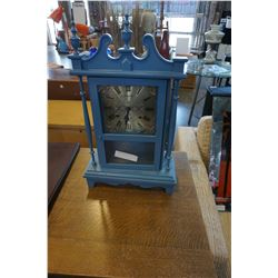 CITIZEN 31 DAY CLOCK PAINTED BLUE