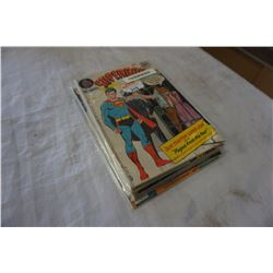 LOT OF VINTAGE BAGGED AND BACKED SUPER BOY COMICS