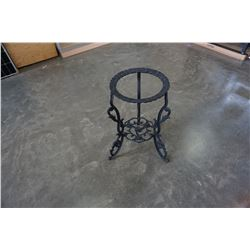 CAST IRON PLANTER STAND