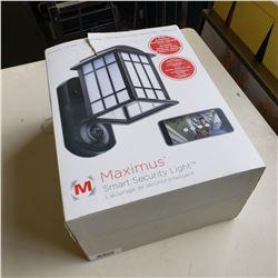 MAXIMUS SMART SECURITY CAMERA LIGHT RETAIL $269.99