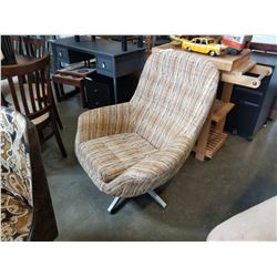 MCM BUTTON BACK CHAIR