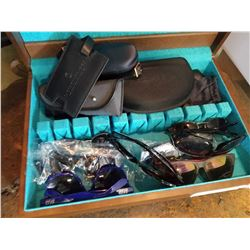 CASE OF SUNGLASSES AND CASES