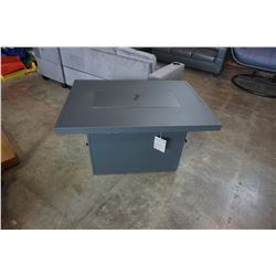 BRAND NEW ALUMINUM  FIRE TABLE 55,000 BTU, CSA APPROVED - RETAIL $999