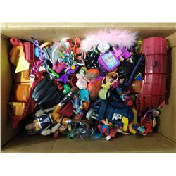 BOX OF OVER 100 COLLECTABLE TOYS