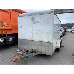 2010 WELLS CARGO 12' ENCLOSED UTILITY TRAILER WITH WORK BENCH VIN# 1WC200E23A4073907