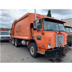 2006 AUTOCAR XPEDITOR, GARBAGE TRUCK, ORANGE, VIN # 5VCDC6BEX6H202393